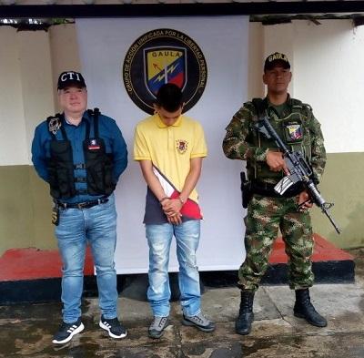 Capturado presunto extorsionista, encargado del cobro de dineros en el Tolima
