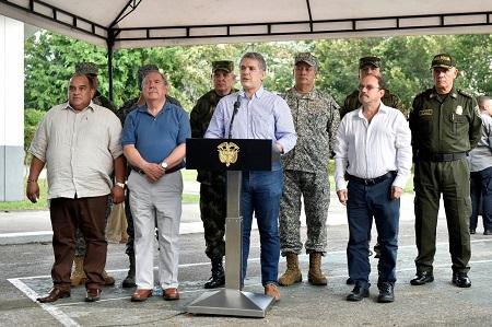 Presidente Iván Duque visitó el departamento de Arauca