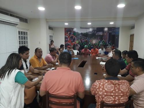 Alcalde se reunió con los presidentes de junta de acción comunal del sector cuatro del municipio de Tame