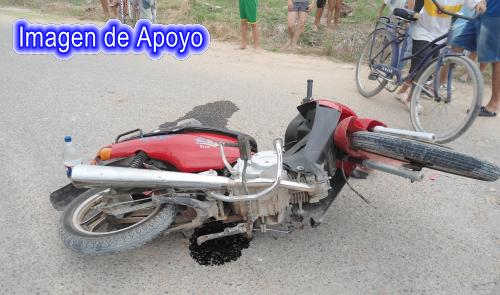 En Tame, dos motocicletas chocaron resultando 3 personas heridas de nacionalidad venezolana