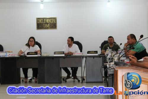 Secretaría de infraestructura citada a debate de control político en el concejo municipal