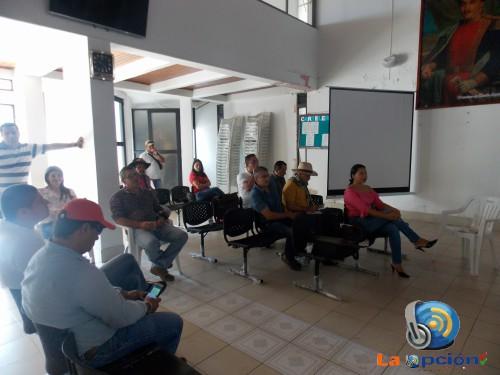 Se cumplió la socialización a los concejales del diagnóstico del plan básico de ordenamiento territorial
