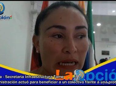 Se adelantó en el concejo municipal de Tame debate de control político a la Secretaría de Infraestructura por la casa médica