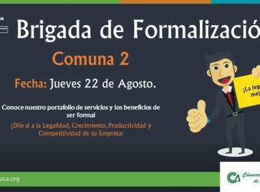 """Cámara de Comercio de Arauca continúa con la campaña """"Dile sí a la legalidad"""", hoy desde la Comuna dos"""