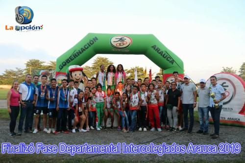 Terminó la fase departamental de Supérate Intercolegiados en Arauca
