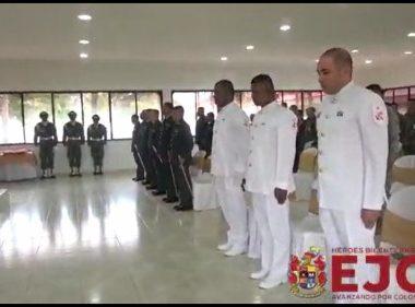 90 suboficiales del Ejército Nacional ascendieron en el departamento de Arauca