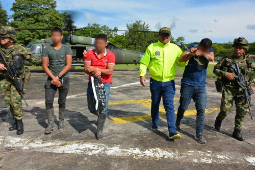 Ejército Nacional captura a tres integrantes del Eln y desvincula a un menor de edad en Arauca