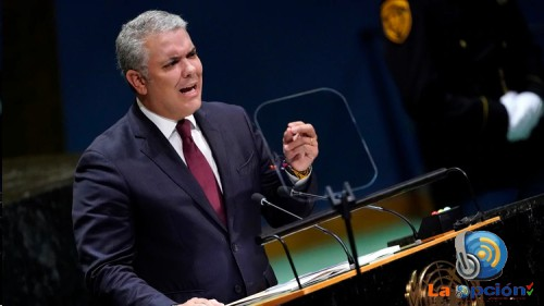Presidente Duque entregó evidencias a la ONU sobre el apoyo de la dictadura venezolana al terrorismo transnacional