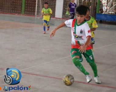Fabián Mauricio, el goleador Tameño de futsal