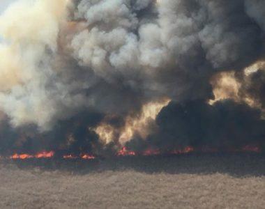 Incendios en Bolivia incontrolables