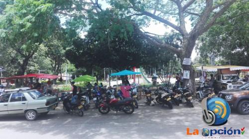 A través del decreto 105 se reglamenta el espacio público para las ventas informales en Tame