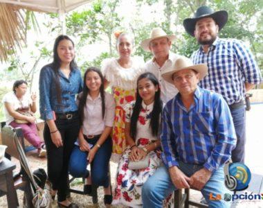 Delegación Tameña en la celebración del Bicentenario en la Ciudad de Bucaramanga