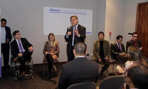 La inclusión laboral de personas con discapacidad, a través de la suscripción de la alianza para la accesibilidad