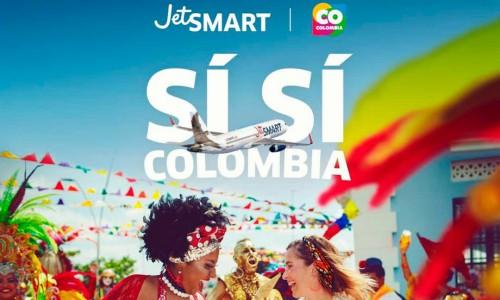 JetSMART aterrizó en Colombia e iniciará operaciones a partir de diciembre de 2019