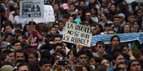 Nueva jornada de manifestaciones estudiantiles, se cumple en principales ciudades del país