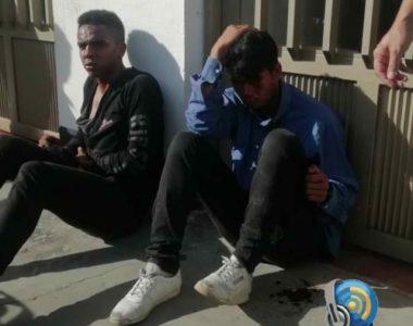 Dos delincuentes fueron golpeados por la ciudadanía de Tame