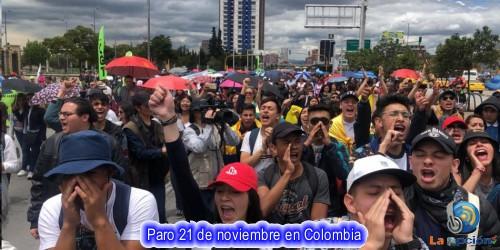 Los gremios que respaldan y los que no respaldan el paro nacional del 21 de noviembre
