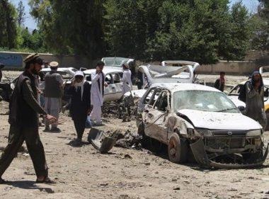 Explosión de bomba en una carretera dejó 10 fallecidos en Afganistán