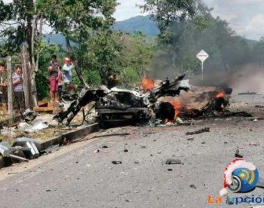 Explosión de carro bomba deja tres soldados heridos en Cubará – Boyacá