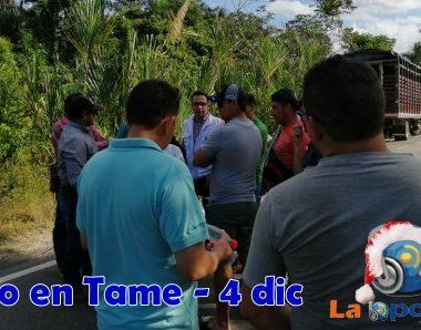 Jornada de paro nacional continúa hoy en el departamento de Arauca