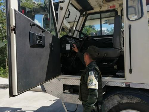 Contrabando de maquinaria pesada, aprehendida en Arauca