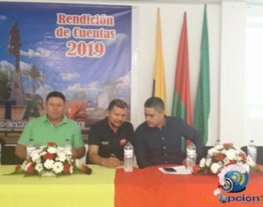 El Alcalde de Tame rindió cuentas de la vigencia 2019