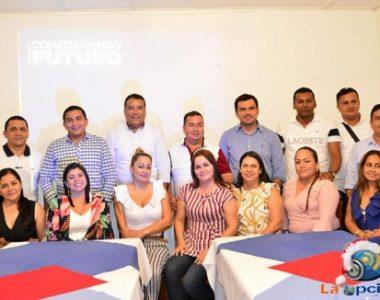 Facundo Castillo, gobernador electo de Arauca, cumplió agenda con los alcaldes y diputados electos