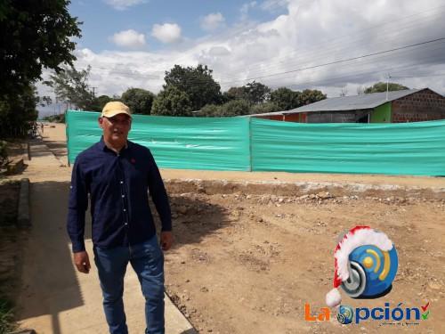 Se suspende la obra de la doble calzada del barrio brisas en Tame
