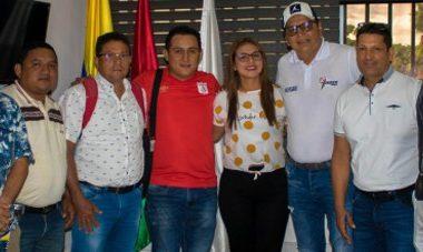 En la organización de la oficina trabaja el coordinador de deportes del municipio de Tame
