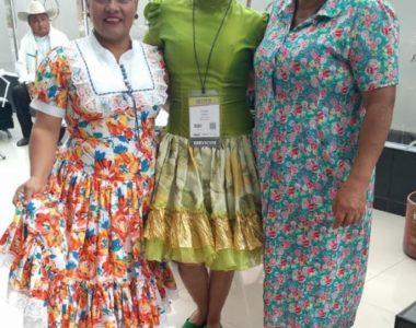 Representación folclórica Araucana presente en Feria Turística de Anato
