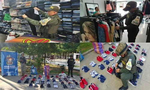 Aprehendida mercancía por valor de 21 millones de pesos en la capital Araucana