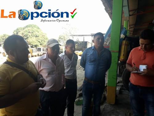 Concejales visitaron el instituto de maquinaria y vías para conocer en qué condiciones está la maquinaria del municipio