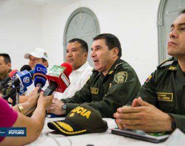 Gobernador y Fuerza Pública de Arauca hicieron un llamado a los gremios y población en general a hacer caso omiso a los llamados de los grupos al margen de la ley