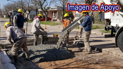 """Secretaría de infraestructura visita obras del sector """"1"""" del municipio de Tame"""