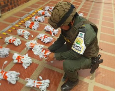 La Policía decomisa mercancía por nueve millones de pesos en Arauca