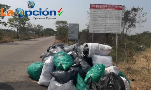 Importante jornada de aseo se realizó en el sector de la Talanquera