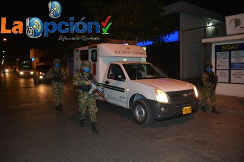 En Arauca, Ejército Nacional activa pelotón humanitario para contener y prevenir el COVID-19