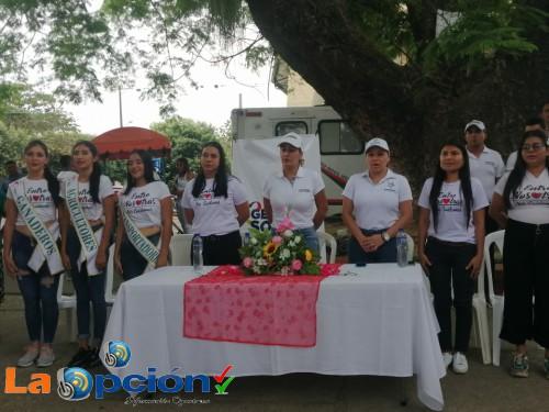 Trabajo en equipo adelantan la gestora social de Tame y la gestora departamental de Arauca