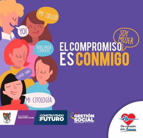 Semana Departamental de la Mujer bajo el lema: Soy Mujer, el Compromiso es Conmigo