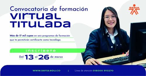 Plazo hasta mañana para inscripción para que estudie en la nueva plataforma virtual del SENA con inteligencia artificial