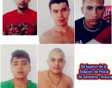 Se fugaron 6 presos, a pesar de las estrictas medidas de seguridad en la estación de policía de Saravena