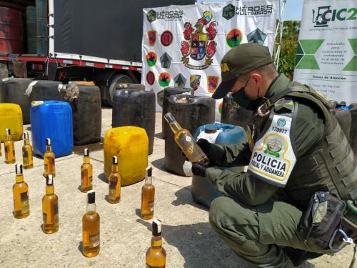 Por 4 millones de pesos fue avaluada la incautación de A.C.P.M. que hizo la Policía en Arauca