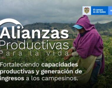 Abierta la Convocatoria de Alianzas Productivas hasta el 13 de junio