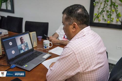 Multinacional Occidental adquiere compromisos con el Departamento para fortalecer el sector salud en época de pandemia