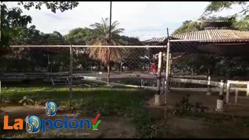 En total abandono está el Centro Recreativo Piscina de Las Ferias