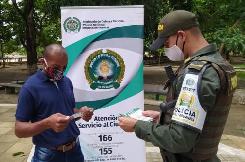 Polfa realizó campaña de prevención y entregó recomendaciones de compre legal