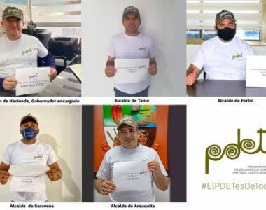 543 iniciativas fueron incluidas en los Planes de Desarrollo Territorial de la subregión Arauca