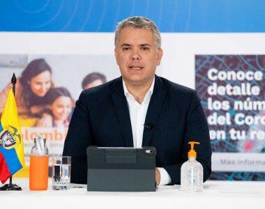 Gobierno Colombiano extiende aislamiento preventivo hasta el 1 de agosto