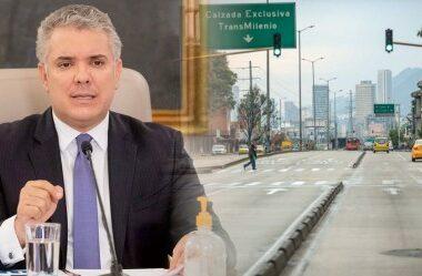 Duque extendió aislamiento obligatorio hasta el 30 de agosto en Colombia