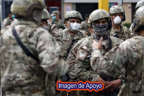 129 Casos positivos para Covid 19 entre la población militar de Arauca